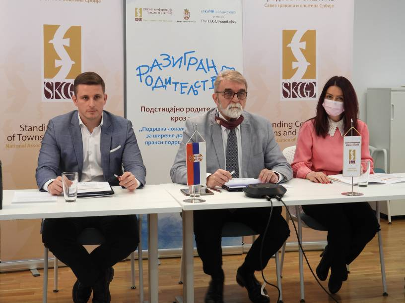 SKGO potpisala sporazum o saradnji sa lokalnim samoupravama u oblasti podrške roditeljstva