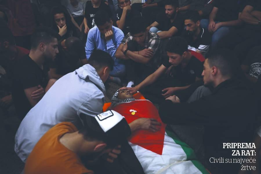 Izrael Palestina napad AP (2)