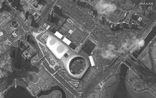 Satelitski snimci: Kineske paravojne snage blizu granice sa Hongkongom