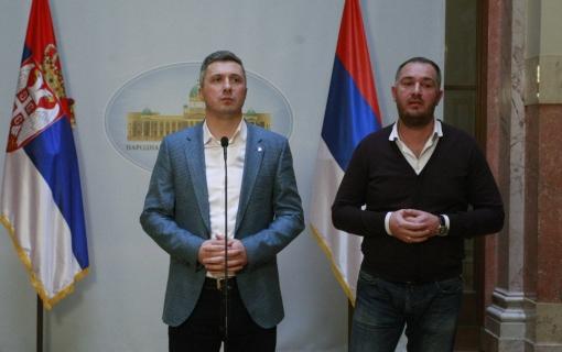 Obradović: Napali me naprednjaci, nisu hteli da se čuje da Vučić sarađuje s Đukanovićem