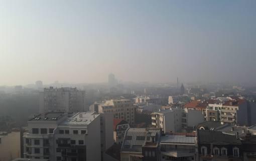 Kvalitet vazduha po gradskoj aplikaciji zagađen, po AirVisualu nezdrav