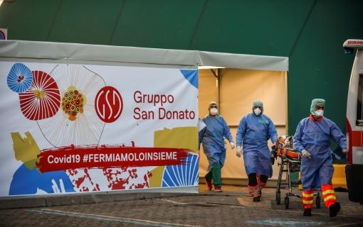Sanitarne vlasti pozivaju na oprez oko pada broja zaraženih u Italiji