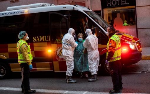 Još 738 osoba umrlo u Španiji, ukupno 3.434, više nego u Kini