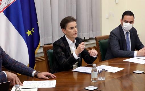 Brnabić: Srbija zainteresovana za nastavak saradnje sa MMF-om
