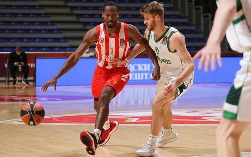 Košarkaši Zvezde izgubili od Žalgirisa