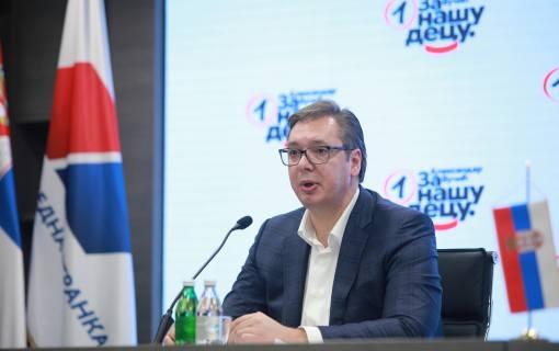 Vučić: Parlamentarni izbori najkasnije 3. aprila 2022. godine