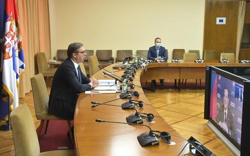Vučić i Medvedev potvrdili dobre odnose Srbije i Rusije na svim poljima