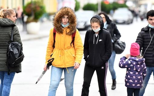U Srbiji sutra oblačno i hladnije, mestimično sa kišom