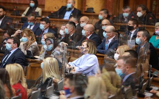 Usvojen Zakon o ministarstvima, poslanici u sredu o izboru Vlade