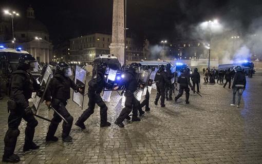 Novi nasilan protest u Rimu zbog mera protiv koronavirusa