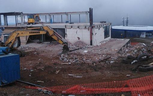 Ministarstvo: Nastavlja se rušenje objekta nelegalno izgrađenog na vrhu Kopaonika