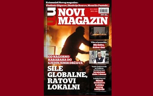 U novom broju nedeljnika Novi magazin pročitajte . . .