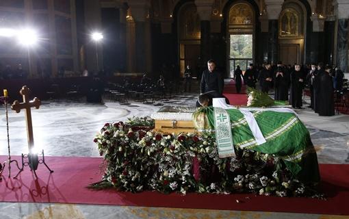 Hram Svetog Save: Patrijarh Irinej sahranjen u kripti, u prisustvu državnog vrha